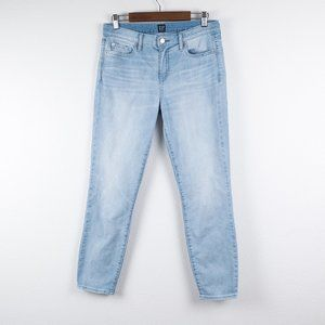 Gap Wearlight True Skinny Light Ankle Jeans 29
